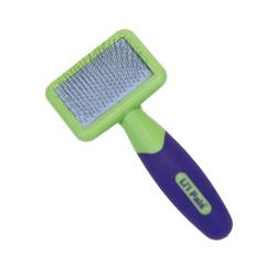 Li'l Pals® Kitten Slicker Brush with Coated Tip Pins
