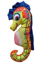 "17"" Suzy Sea Horse Plush Dog Toys"