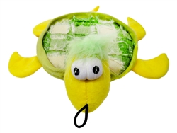 "10.5"" Tishy Turtle Plush Dog Toys"