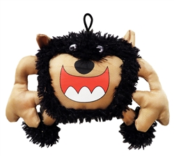 "9"" Scary Big Mouth Monster Plush Dog Toys"