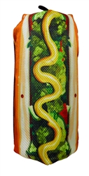 "7"" Hot Dog Scoochzilla Tough Dog Toys"