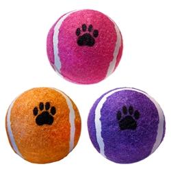 """2.5"""" Bulk Scoochie Poochie Tennis Balls"""