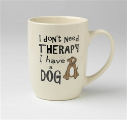 I Don't Need Therapy Stoneware Mug