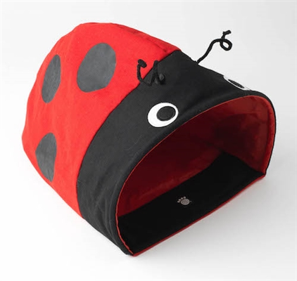 Ladybug Cat Cave
