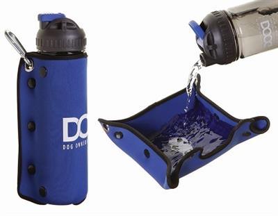 3-in-1 Water Bottle + Drink Insulator + Dog Water Bowl