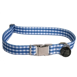 Gingham Navy Southern Dawg Collection