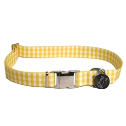 Gingham Yellow Southern Dawg Collection