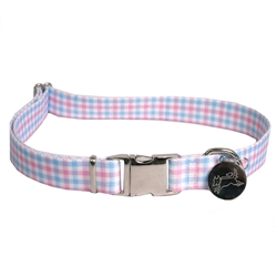 Gingham Pink/Blue Southern Dawg Collection