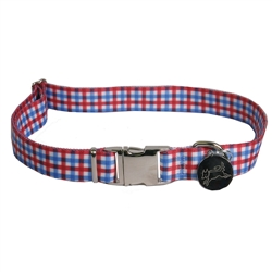Gingham Red/Blue Southern Dawg Collection