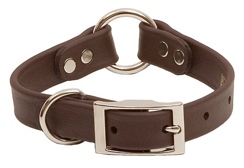 Narrow DuraSoft Hunt Collar with Center Ring