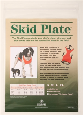 Mendota Skid Plate - Orange