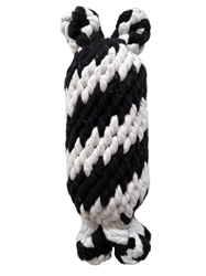 Super Scooch Squeak Braided Rope Man Toy