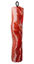 "13"" Barbaras Bacon Scoochzilla Tough Dog Toys"