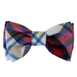 Americana Madras Bow Tie by Huxley & Kent
