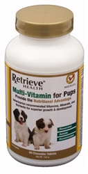 Multi Vitamin for Pups - 60 chewable tablets