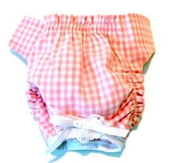 Pink Gingham Panties