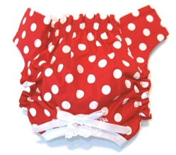 Red & White Polka Dot Panties