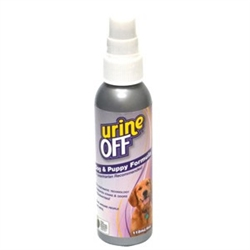 Urine Off for Dogs & Puppies - 4oz Sprayer w/Clip Strip (case of 12)