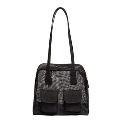 "Carrier | Black Mesh ""See Through"" Cargo Carrier"