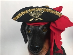 Buccaneer Pirate Costume Hat