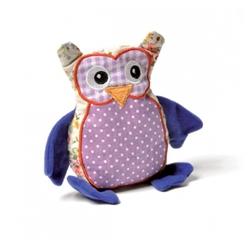 Bavarian - Valerian Owl Ulla Shaped cat toy