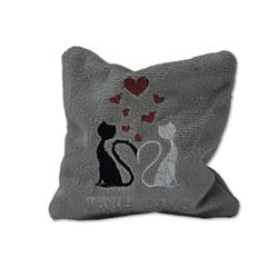 Bavarian - Valerian True Love Embroidered grey sack