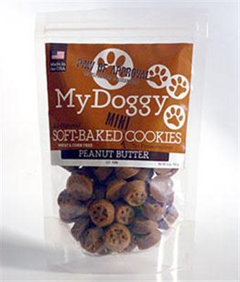 5oz Bag of Peanut Butter (No Wheat) My Doggy™ Training Treats