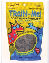Crazy Dog Train-Me! Treats for Dogs- Three Flavors