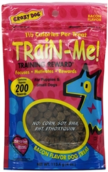 Crazy Dog Mini Train-Me! Treats for Dogs - 4 oz.