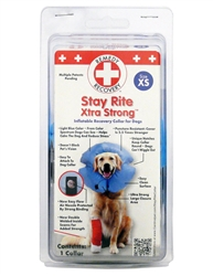 Remedy + Recovery Stay Rite Xtra Strong Inflatable Recovery Dog Collar