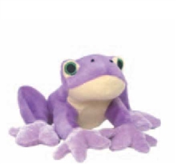 Croaking Frog with Electronic Sound Plush Dog Toy