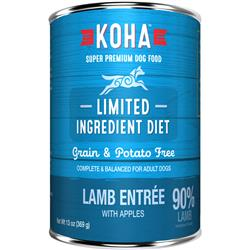 KOHA 90% Lamb with Fresh Apples - 13oz Cans - Limited Ingredient Diet