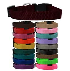 Plain Colored Nylon Collars