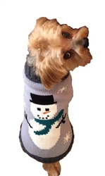 Snowman Sweater  (thick, soft and warm!)