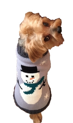 "Snowman Sweater  (thick, soft and warm!) (On Sale - only one 6"" & two 8"" left)"