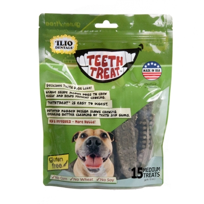 Ilio Dentals Teeth Treats - 12 oz