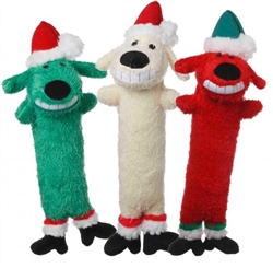 Multipet Loofa Santa (Assorted Colors)