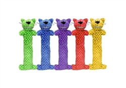 "Multipet Loofa Cat for Cats (Assorted Colors) 10"""