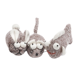 Multipet Cat Toy Sock Pals for Cats - Assorted