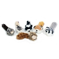 "Multipet ""Bouncy Burrow Buddies Babies Assortment  Size: 8"""