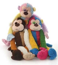 Multipet MultiCrew Monkey (Assorted Colors) 17""
