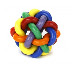 Multipet Nobbly Wobbly Rubber 3""
