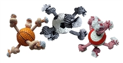MultiPet TPR Sports Ball with Rope