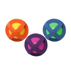 Multipet Boingo Ball (Assorted Colors) 3.5""