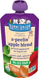 Nummy Tum Tum Organic A-Peelin' Apple Blend Dog & Cat Food Supplement 4oz (Case of 12)