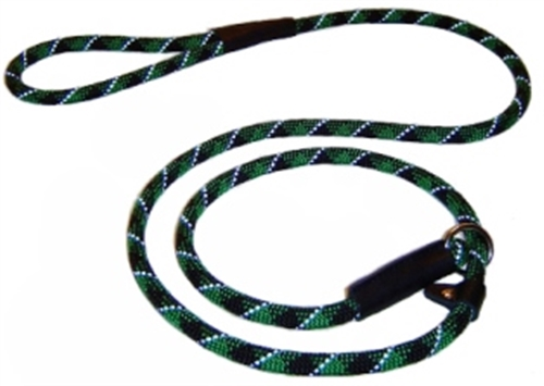 Reflective Rope Leashes - Slip-End ~ 5 Colors