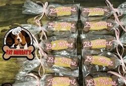 Fat Murray's - Be Mine - Peanut Butter/Carob Bone (6 Pack)