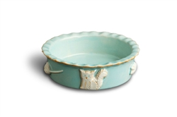 Cat Food & Water Bowl - Sky Blue