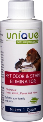 4oz Concentrate - Pet Odor and Stain Eliminator