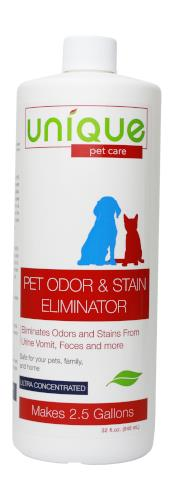 32oz. Concentrate - Pet Odor and Stain Eliminator, (makes 2.5 gallons)